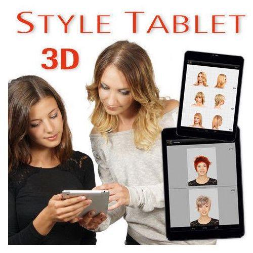 Hair concept Style tablet 3d - pakiet dodatkowych fryzur - ślubne 30