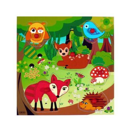 HESS Puzzle Zwierzęta leśne (4016977149037)
