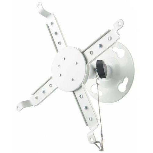 4world uchwyt sufitowy do projektorów uchylny/obrotowy, max.8kg, biały