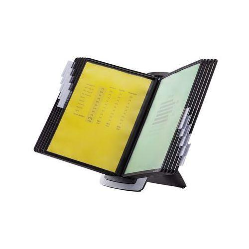 Zestawy stojaków stołowych sherpa style, 10 przezroczystych tablic din a4, z wkł marki Durable