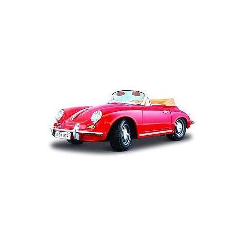 Bburago, Porsche 356, model, czerwony, 1:24