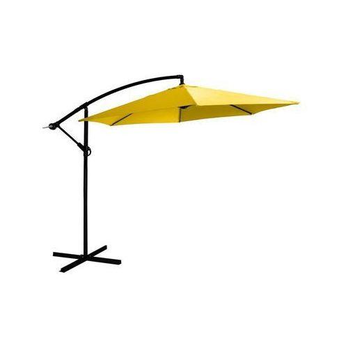 Jumi Parasol ogrodowy 300 cm żółty okrągły (5900410433908)