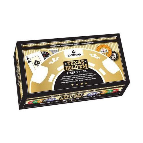 Cartamundi Zestaw do pokera 300 żetonów luxury (5411068400636)