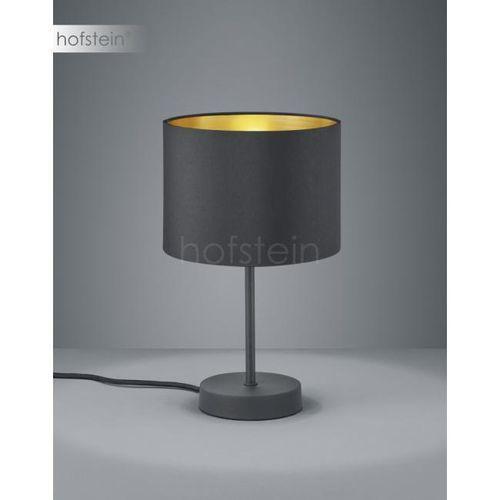 Nocna LAMPA stołowa HOSTEL 508200179 Trio stojąca LAMPKA biurkowa pasteri czarna złota, 508200179