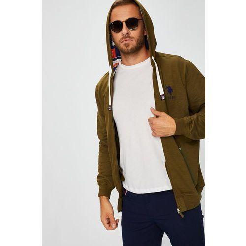 U.S. Polo - Bluza, kolor brązowy