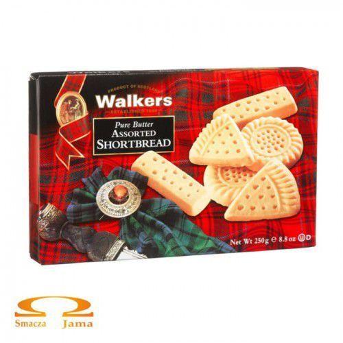 Ciasteczka maślane Walkers Shortbread Assorted 250g