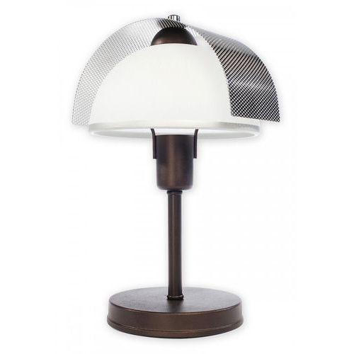 Lemir Ergo lampka stołowa 1 pł. chrom rdza wenge, dodaj produkt do koszyka i sprawdź swój rabat, nawet do 30% taniej!