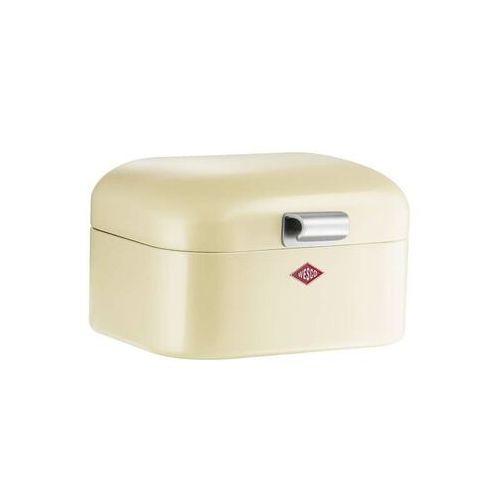 Wesco - pojemnik na pieczywo mini grandy - beżowy - brązowy   beżowy