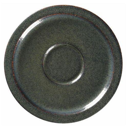 Spodek porcelanowy pod filiżankę stone wulkaniczny marki Rak