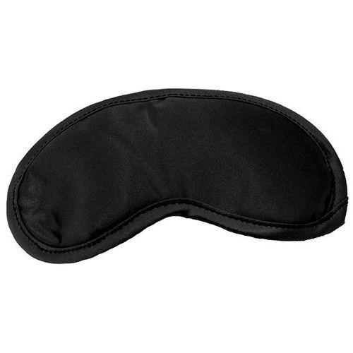 Satynowa opaska na oczy - s&m satin blindfold black marki Sex&mischief