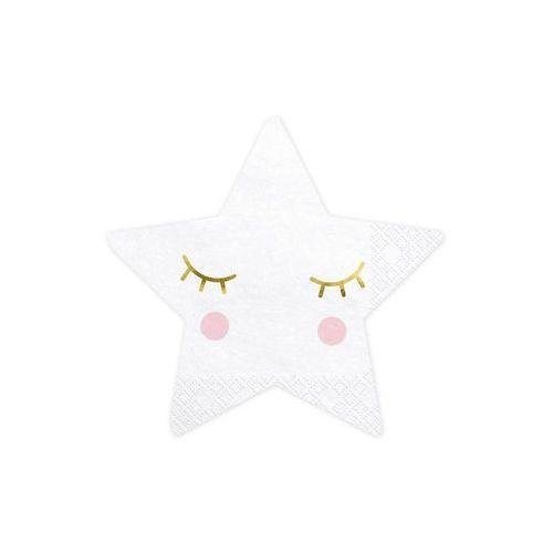 Party deco Serwetki gwiazdki - little star - 30 cm - 20 szt. (5900779114203)