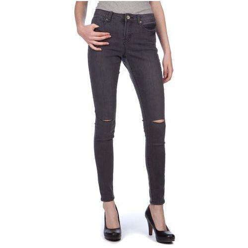 Brave Soul jeansy damskie Annachar2 XS ciemnoszary, kolor szary