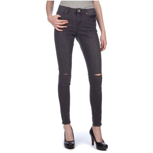 jeansy damskie annachar2 m ciemnoszary marki Brave soul