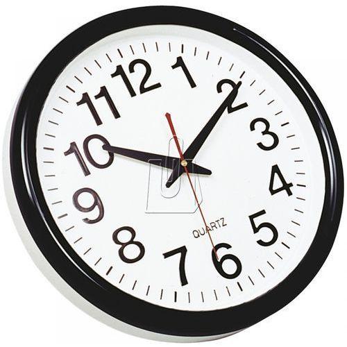Q-connect Zegar ścienny  tokyo czarny