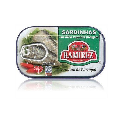 Ramirez Sardynki portugalskie pikantne w oleju 125g (5601010111226)