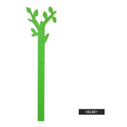Selsey wieszak naścienny hadolly zielone drzewko 160 cm (5903025386270)