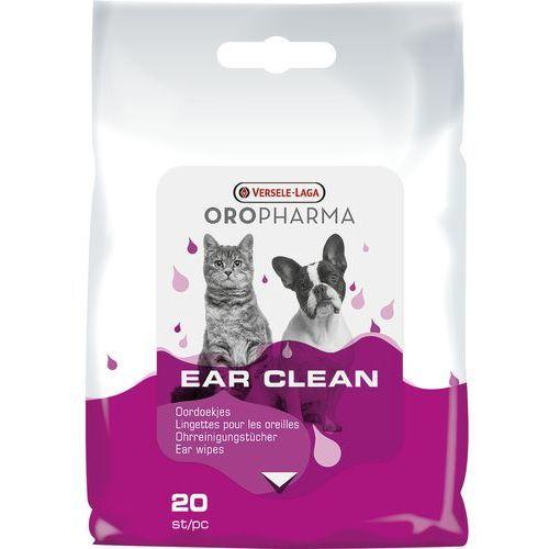 Versele laga Versele-laga oropharma ear clean chusteczki do uszu dla psa i kota 20szt