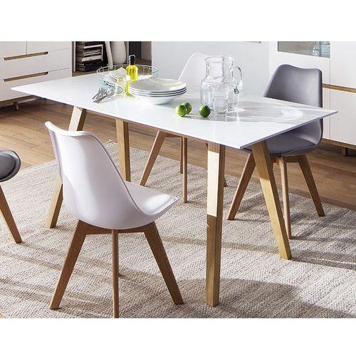 Nierozkładany stół malmo 160 w stylu skandynawskim marki Fato luxmeble