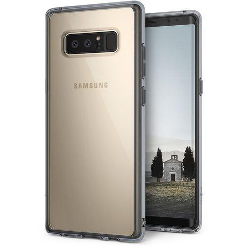 Etui Ringke Fusion Samsung Galaxy Note 8 Smoke Black, kolor czarny
