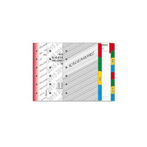 Kalendarz 2015 wkład do organizera pełny Mini SD9 - SD9 (5906408000206)