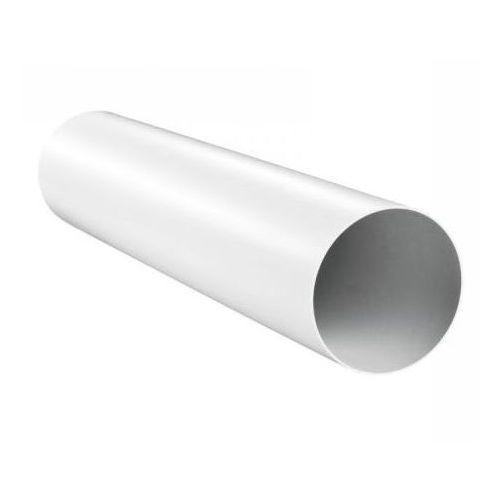 Kanał okrągły wentylacyjny PVC Awenta KO125-05 - DN 125 0,5mb