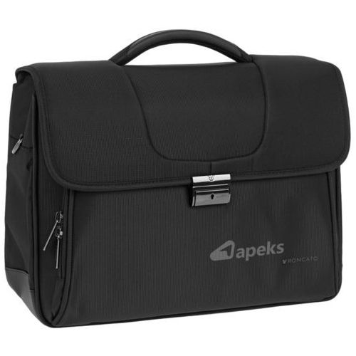 Roncato clio torba na laptopa 15,6'' / teczka 3kom. / czarna - black