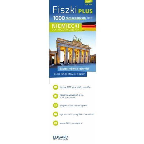FISZKI PLUS 1000 NAJWAŻNIEJSZYCH SŁÓW NIEMIECKI DLA POCZĄTKUJĄCYCH + CD (2014)
