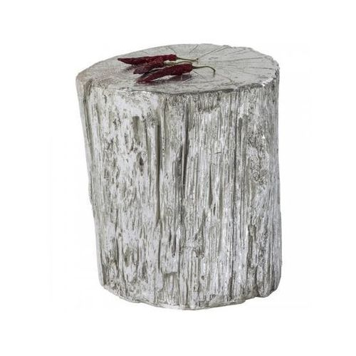 taboret tronco srebrny - 80813 marki Kare design