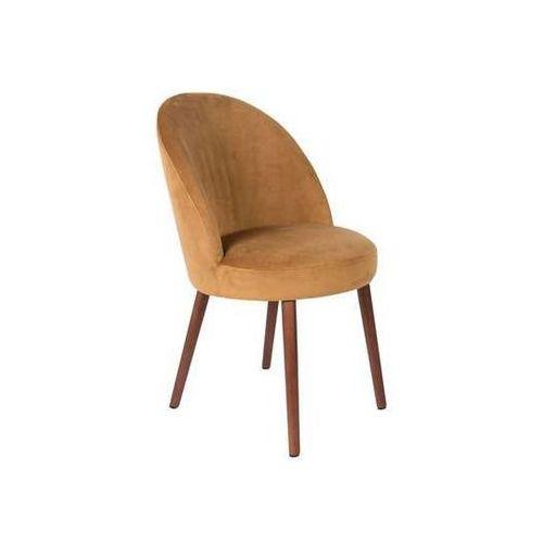 :: krzesło barbara karmelowe marki Dutchbone