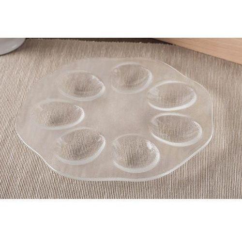 Jasło talerz szklany na jajka 20.5 cm