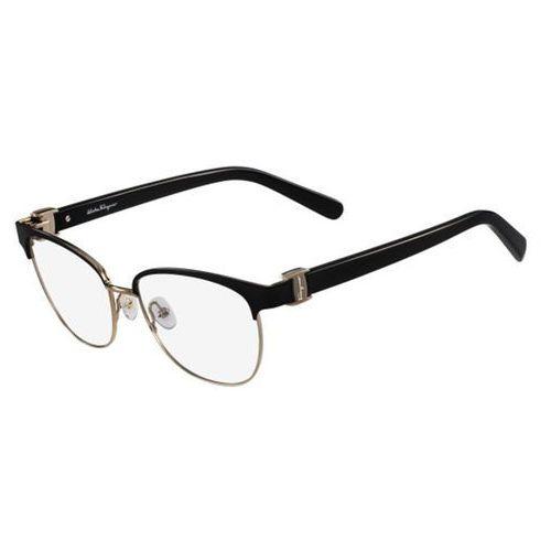 Salvatore ferragamo Okulary korekcyjne  sf 2147 001