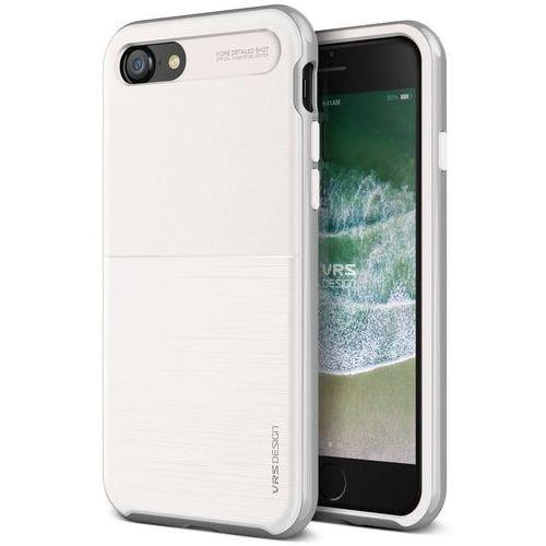 Vrs design Etui high pro shield s iphone 8/7 white silver (8809477688801)