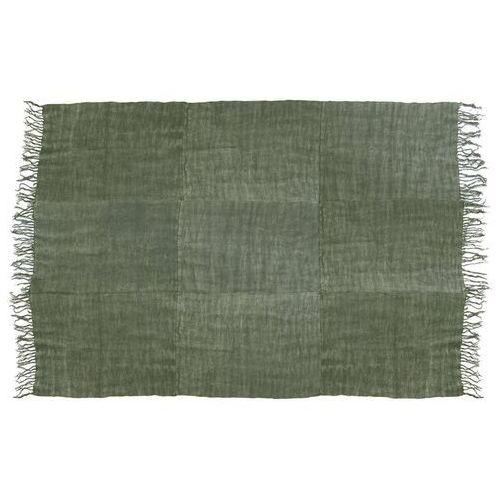 HKliving Lniany dywan w kolorystyce wojskowej zieleni (230x320) TTK3022, TTK3022