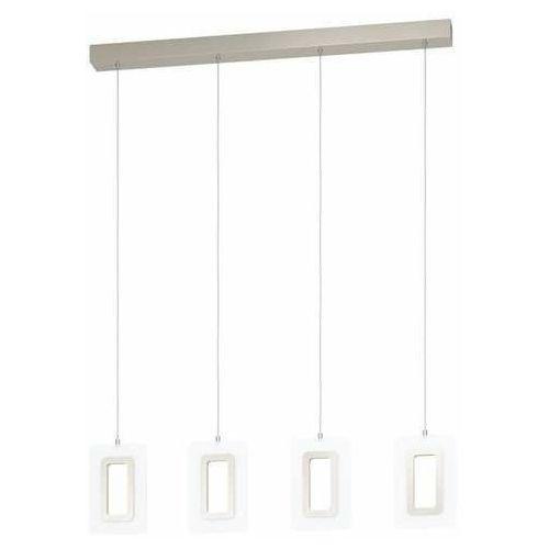 Eglo Enaluri 99107 lampa wisząca zwis 4x5,4W LED nikiel/satyna
