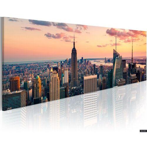 SELSEY Obraz - Morze wieżowców - NYC 120x40 cm