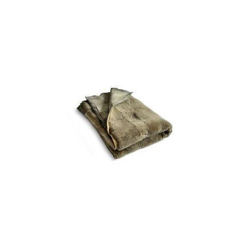 Narzuta / dywan skórzany duży khaki marki Taftyli