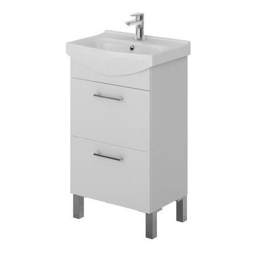 Szafka pod umywalkę Cersanit Olivia 50 cm biała (5902115706400)