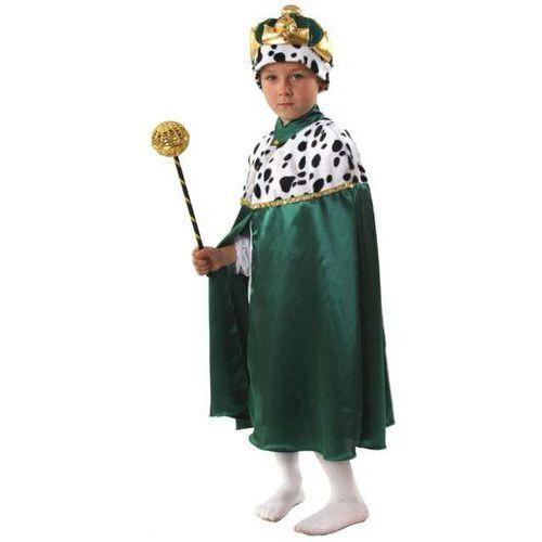 """Strój dla dzieci """"Peleryna Króla"""", KRASZEK, zielona, roz. 110/116 cm (5908260212568)"""