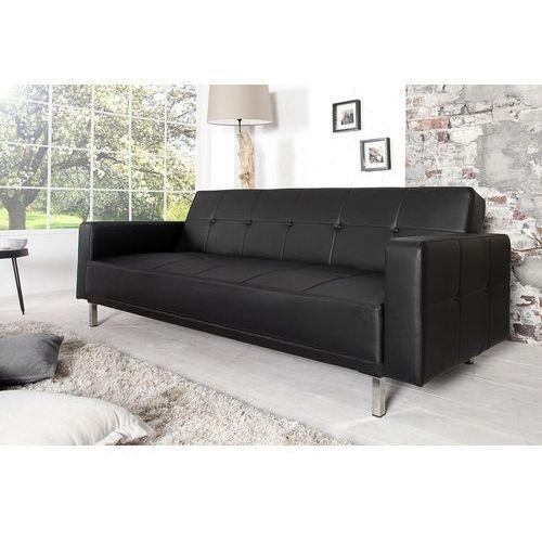 Interior Sofa rozkładana monako 215cm - czarny - wzór 3