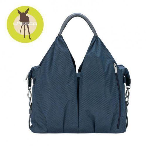 green label torba z akcesoriami neckline spin dye blue melange marki Lassig