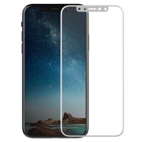 revel clear - hartowane szkło ochronne 9h na cały ekran iphone x (biała ramka) marki X-doria