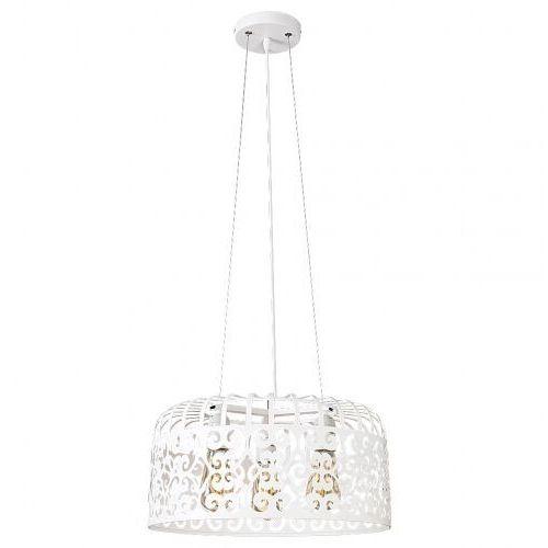 Lampa wisząca Rabalux Alessandra 2163 3x60W E27 biała (5998250321639)