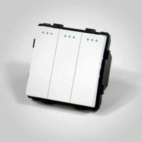 Els elektrotechnika sp. z o.o. sp. k. Touchme mechanizm łącznik potrójny biały me607w (5902273847199)