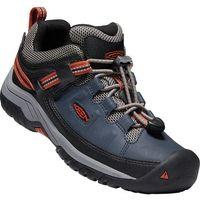 KEEN dziecięce buty trekkingowe Targhee Low WP blue nights/rooibos tea US 1 (32-33 EU)