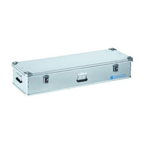 Aluminiowa skrzynka transportowa, poj. 119 l, dł. x szer. x wys. wewn. 1350x400x