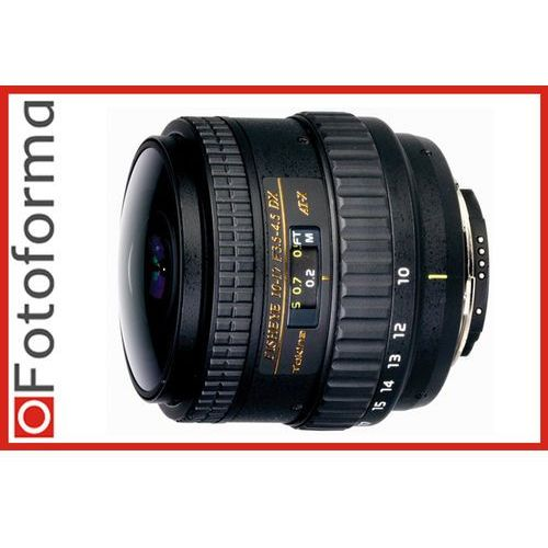 Tokina AT-X 10-17 mm f/3.5-4.5 107 DX NH Fisheye / Nikon