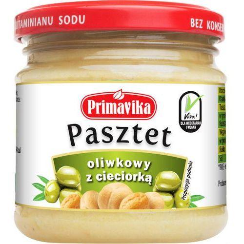 Primavika Pasztet oliwkowy z cieciorką 160g (5900672300734)
