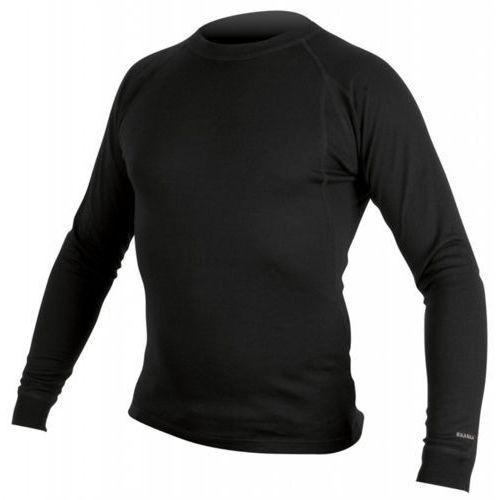 Koszulka z długim rękawem baabaa merino czarny / rozmiar: m marki Endura