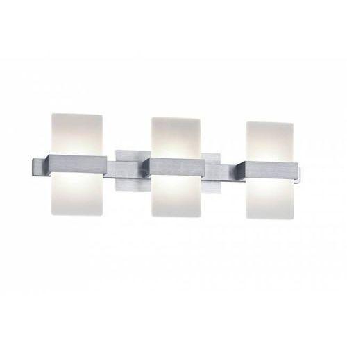 Trio  platon lampa ścienna led aluminium, 3-punktowe - nowoczesny - obszar wewnętrzny - platon - czas dostawy: od 2-4 dni roboczych (4017807293982)
