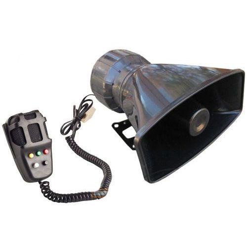 Kaminer Syrena ton z megafonem ala policyjna fanfara 5 ton 80w